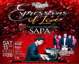 Kaveesh The Band Presents: Expressions of Love  A Valentine's Day Concert